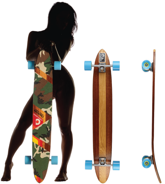 Girl with images of the WrongWay board